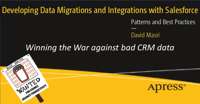 Winning the War against bad CRM data