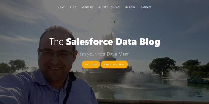 Introducing The Salesforce Data Blog (A Distributed Blog) OR Choosing a Blogging Platform.